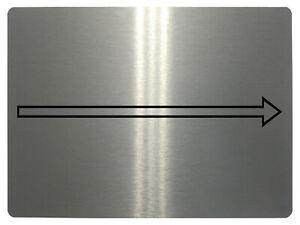 382 Arrow Pointing Left / Right Metal Aluminium Plaque Sign Door House Office