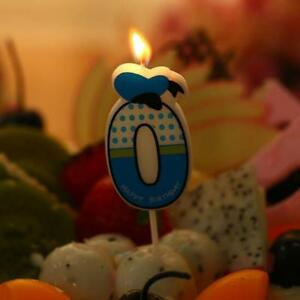 Minnie Mickey Mouse Candles Numbers 0-9 Party Candle Birthday Cake Decoration