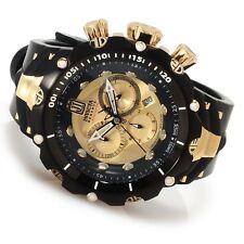 Mens Invicta Reserve JT Venom II Generation 2 Swiss Gold Black PVD Watch 14416