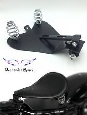 "3"" Solo Spring Mounting Kit W/ Seat Baseplate Bracket for Harley Bobber Chopper"