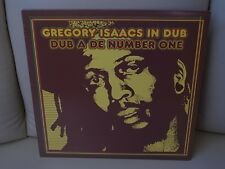 """Gregory Isaacs in Dub, Dub A De Number One, 12"""" LP"""