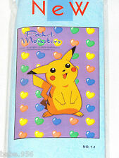 "POKEMON POCKET MONSTERS BAMBOO WALL SCROLL  16"" X 12"" UNISEX  3+"