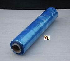 Emballage expédition 1 rouleaux de film étirable bleu Translucide 15µ 45 x 30