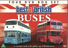 BEST OF BRITISH BUSES - 4 DVD BOX SET BELFAST, GLASGOW LONDON & MORE (BRITAIN)
