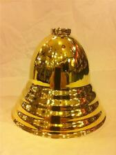 """LAMP CANOPY SOLID BRASS  ANTIQUE STYLE BEE HIVE  3/4"""" SLIP RING LARGE SIZE"""