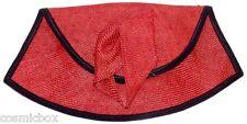 Sac à main ALEXANDRE Créations made FRANCE cérémonie pochette femme rouge noir