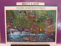 Scott # 3378 - Nature of America Series-Pacific Coast Rain Forest -Sheet of (10)