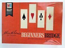 Milton Bradley Beginners Bridge Instructional Game from 1965 NEVER OPENED New