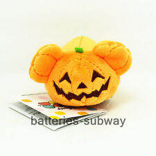 "3.5"" New mini  Halloween Pumpkin Mickey Tsum Tsum Soft Stuffed Plush Toy Doll"