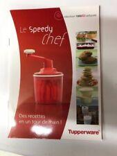 Livret Speedy Chef ***TUPPERWARE*** neuf