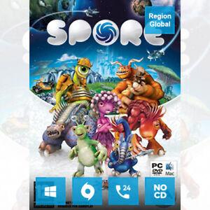 Spore for PC Game Origin Key Region Free