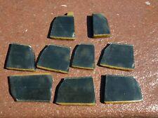 9 Chatoyant Blue Tiger Eye slabs 3.4 oz
