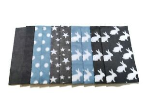 Fleece Nappy Liners Reusable Washable For Cloth Nappies x20 plus x3 wipes