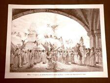 Milano nel 1889 Teatro Alla Scala L'Asrael del Maestro Faccioli Ultima scena