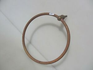 "Antique Shower Head Loop Ring Old Bathroom Vintage French Salvage Sprinkler 11""W"