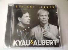 KYAU A ALBERT CD DISTANT LIGHTS NIGHTS SEALED 13TRK Signed ITS ALWAYS BEEN U/ONE