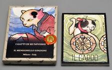 I GATTI KUNIYOSHI - KUNIYOSHI'S CATS - LTD. ED. TAROT TRUMPS CARD DECK - NEW