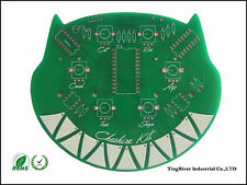 2Layer PCB prototype manufacture fabrication Length<=10cm&Width<=10cm 10pcs
