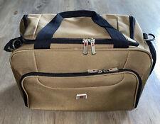 Victorinox Carry On Luggage Duffle Bag Gym Pool Travel Tan With Black