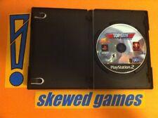 Top Gun Combat Zones - PS2 PlayStation 2 Sony Game & Case