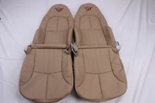 Custom Made 1997-2004 C5 Corvette Real Leather Seat Covers for standard Seats