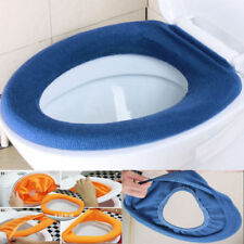 New Home Bathroom Toilet Seat Closestool Washable Soft Warmer Cover Pad
