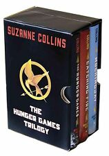 THE HUNGER GAMES TRILOGY BOXED SET HARDCOVER Suzanne Collins EXCELLENT CONDITION