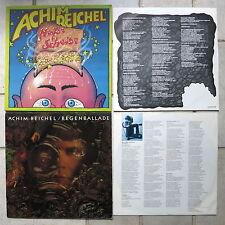 ACHIM REICHEL 2-LPs → Regenballade LP NOVA & Heisse Scheibe LP Ahorn Innenhüllen