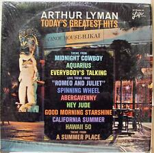 Arthur Lyman - Today's Greatest Hits LP Mint- SL 1040 Vinyl 1969 Stereo USA HiFi