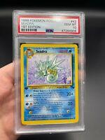 PSA 10 1st Edition Seadra 42/62 Fossil Set Pokemon Card VINTAGE WOTC