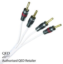 QED Silver Anniversary XT Bi-wire Cable 2+4 AIRLOC Forte Plugs Fitted 1 x 4m