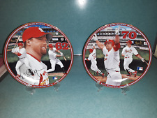 Mark McGwire Collector Plates - 1998 Bradford Exchange