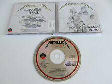 METALLICA ...And Justice For All CD 1988 VERY RARE OOP ORIGINAL PRESSING USA!!!
