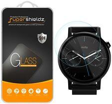 3X Supershieldz Motorola Moto 360 46mm (2nd Gen) Tempered Glass Screen Protector