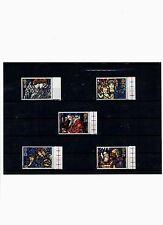 Großbritannien,Mi.nrn. 1421-1425,Weihnachten 1992,Kirchenfenster,postfrisch!