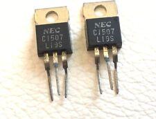 2SC1507 C1507 Bipolar Junction NPN  TRANSISTOR LOT OF 2 NEC