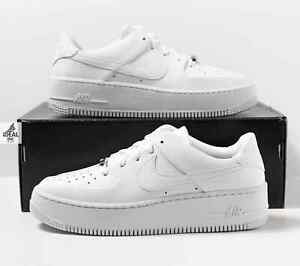 Nike Air Force 1 Sage Low Women's Sizes 7.5-11 Sneakers Triple White AR5339 100