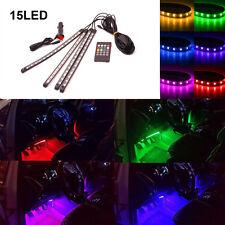RGB Musiksteuerung LED-Streifen Innenbeleuchtung Lichtleiste Fußraumbeleuchtung