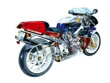 Honda VFR750R RC30 Moto Moto Italien Poster Brochure Publicité Lumineuse A3