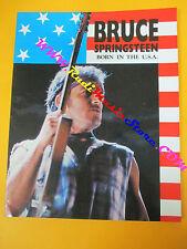 BOOK LIBRO BRUCE SPRINGSTEEN Born in the u.s.a. 1985 GALLO con foto no cd lp