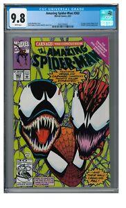 Amazing Spiderman #363 (1992) Classic 3rd Carnage/ Venom Cover CGC 9.8 AA137