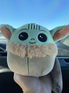 "🌟Squishmallow Star Wars Plush 5"" Baby Yoda The Child Mini Disney🌟 - Free Ship"