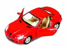 "Brand New 5"" Kinsmart Mercedes Benz SLK Class Diecast Model Toy Car 1:32 Red"