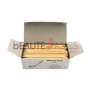 "4.5"" Nail Salon Spa 1440 pcs Manicure Cuticle Pusher Waxing Sticks (PW2209 x10)"