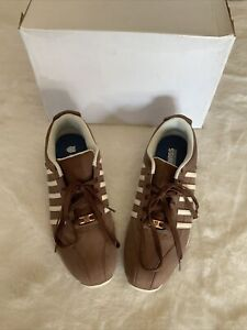 K Swiss Arvee 1.5 Mens Classic Casual Trainers - Size 12 Brown (Bison/Nutmeg)