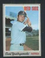 1970 Topps #10 Carl Yastrzemski NM/NM+ Red Sox 114865
