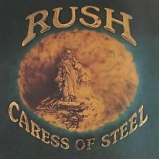 Rush Caress of Steel 180gm Vinyl LP Download Gatefold 2015 &