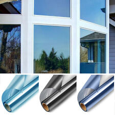Un moyen miroir Film fenêtre verre autocollant teinte UV solaire isoler reflé ST