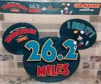 Pluto Mouse Ears Car Magnet NEW Run Disney 2016 WDW 5k Marathon