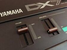 2 X for Yamaha DX7 MK1 DX9 DX5 DX1 DX21 DX27 DX100 Slider Knob Volume/Data Entry